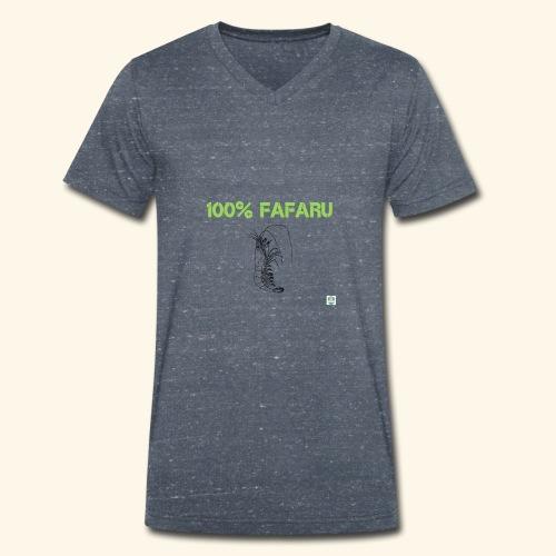 100% Fafaru - T-shirt bio col V Stanley & Stella Homme