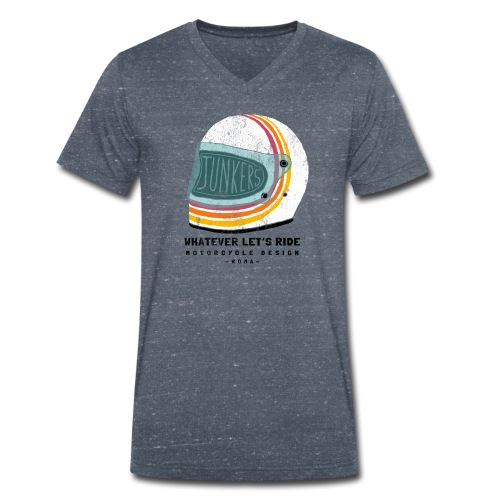 helmet - T-shirt ecologica da uomo con scollo a V di Stanley & Stella