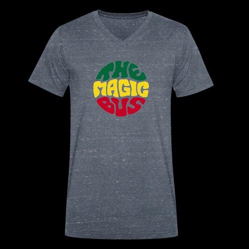 THE MAGIC BUS - Men's Organic V-Neck T-Shirt by Stanley & Stella