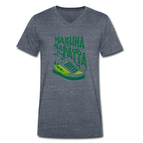 Hakuna maPatta - Mannen bio T-shirt met V-hals van Stanley & Stella