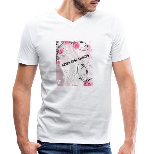 1541709554668 - T-shirt ecologica da uomo con scollo a V di Stanley & Stella