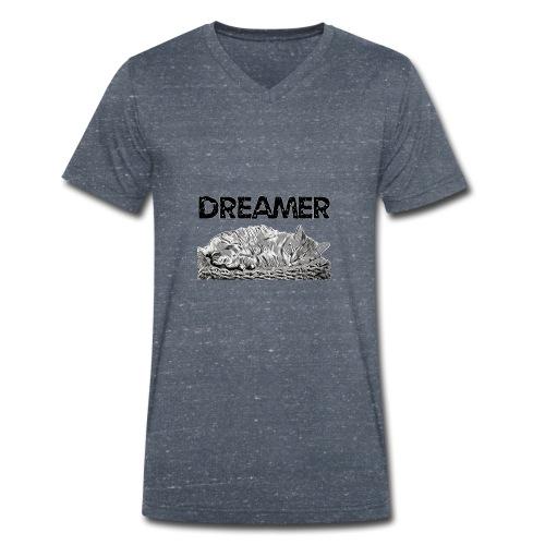 Dreamer - T-shirt ecologica da uomo con scollo a V di Stanley & Stella