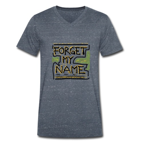 Forget My Name - Økologisk Stanley & Stella T-shirt med V-udskæring til herrer