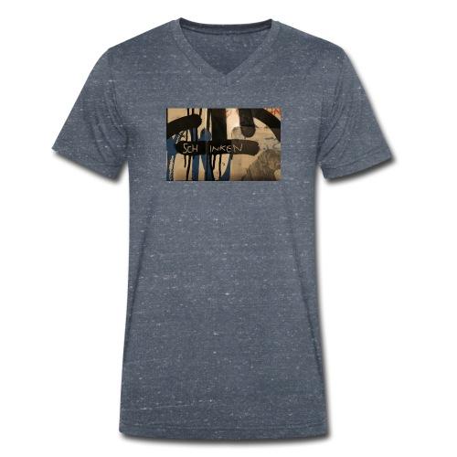 Schinken - Männer Bio-T-Shirt mit V-Ausschnitt von Stanley & Stella