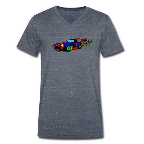auto fahrzeug tuning - Männer Bio-T-Shirt mit V-Ausschnitt von Stanley & Stella
