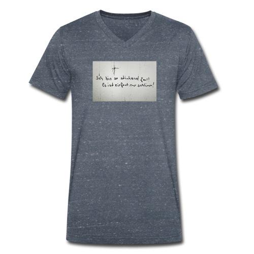 Faul - Männer Bio-T-Shirt mit V-Ausschnitt von Stanley & Stella