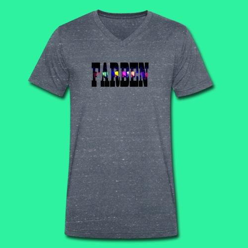 FARBEN - Männer Bio-T-Shirt mit V-Ausschnitt von Stanley & Stella