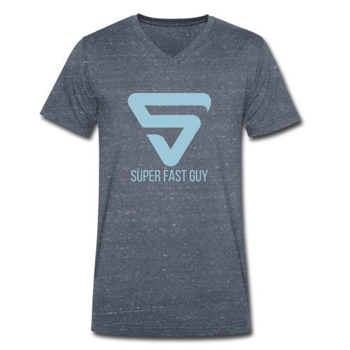 Super Fast Guy - T-shirt bio col V Stanley & Stella Homme