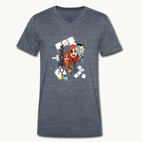 Chroma - T-shirt bio col V Stanley & Stella Homme