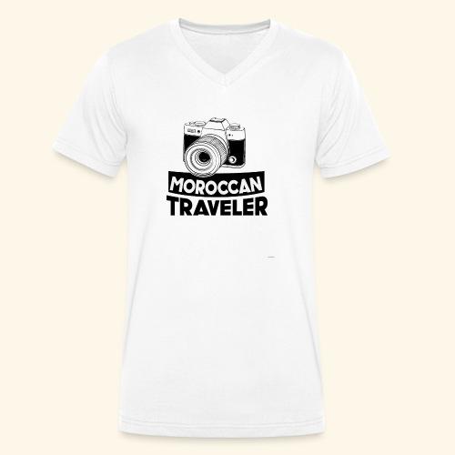 Moroccan Traveler - T-shirt bio col V Stanley & Stella Homme