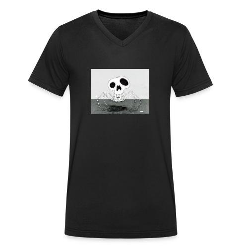 skull spider - Ekologisk T-shirt med V-ringning herr från Stanley & Stella
