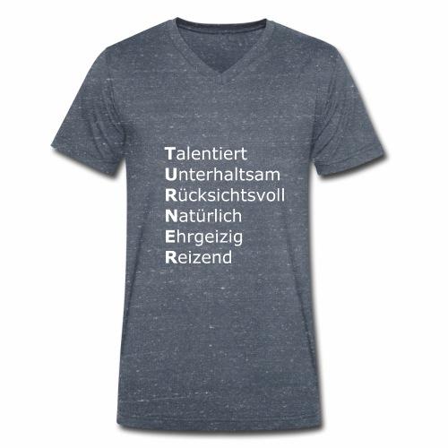 Turner - Männer Bio-T-Shirt mit V-Ausschnitt von Stanley & Stella