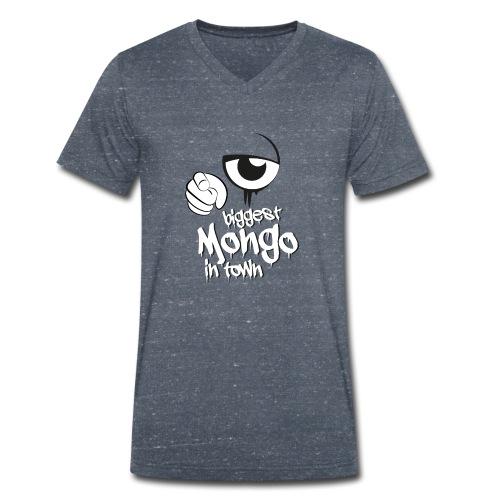 biggest mongo in town - Männer Bio-T-Shirt mit V-Ausschnitt von Stanley & Stella