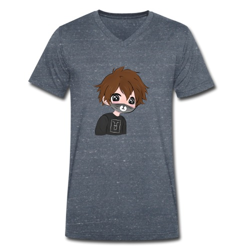 Fan de The Louste Kawaii V2 - T-shirt bio col V Stanley & Stella Homme