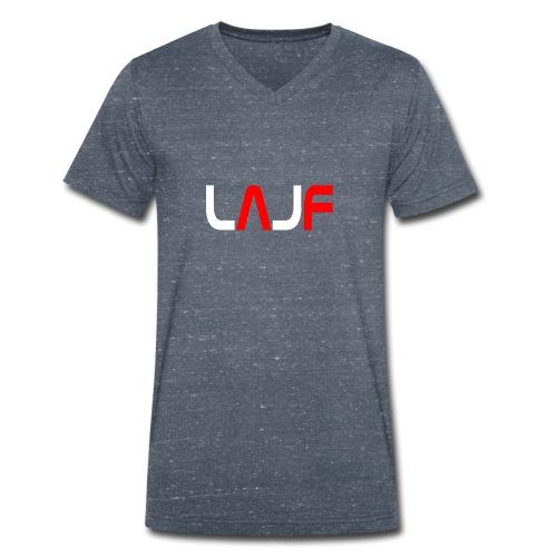 LAJF vit - Ekologisk T-shirt med V-ringning herr från Stanley & Stella