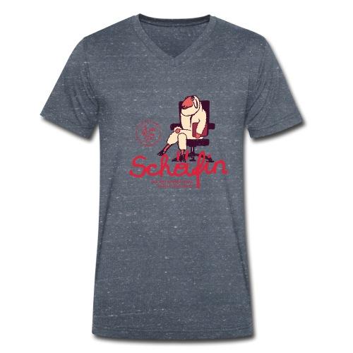 Die Schäfin - Männer Bio-T-Shirt mit V-Ausschnitt von Stanley & Stella