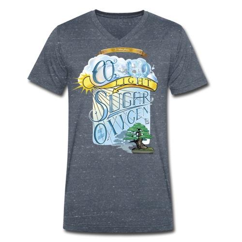Photosynthesis, Shirt - Men's Organic V-Neck T-Shirt by Stanley & Stella