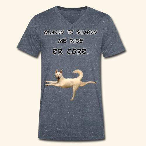 quando ti guardo - T-shirt ecologica da uomo con scollo a V di Stanley & Stella