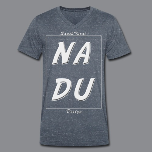 Na DU? - Männer Bio-T-Shirt mit V-Ausschnitt von Stanley & Stella