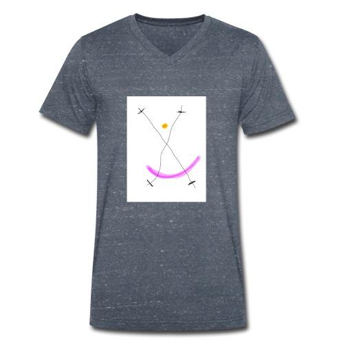 64FB8425 2DD5 4821 BDA2 8F0B9E31CF77 - Økologisk Stanley & Stella T-shirt med V-udskæring til herrer
