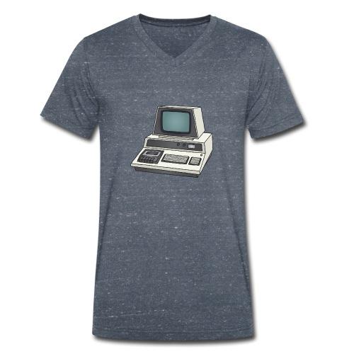 Personal Computer PC c - Männer Bio-T-Shirt mit V-Ausschnitt von Stanley & Stella