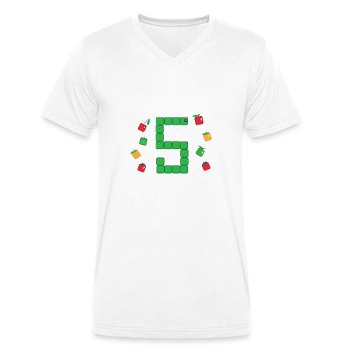 Serpent Tetris - T-shirt bio col V Stanley & Stella Homme