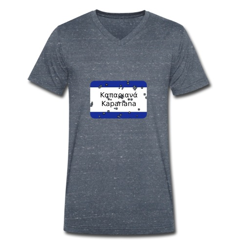mg kapariana - Männer Bio-T-Shirt mit V-Ausschnitt von Stanley & Stella