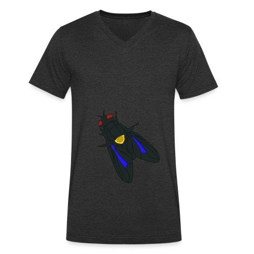 Fluga - Ekologisk T-shirt med V-ringning herr från Stanley & Stella