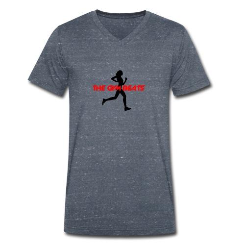 THE GYM BEATS - Music for Sports - Männer Bio-T-Shirt mit V-Ausschnitt von Stanley & Stella