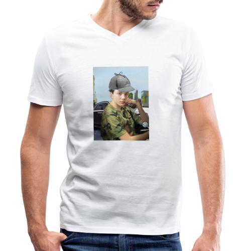 Detektiv Laurin - Männer Bio-T-Shirt mit V-Ausschnitt von Stanley & Stella