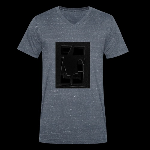 Dark Negative - Men's Organic V-Neck T-Shirt by Stanley & Stella