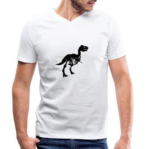 tyrannosaurus rex - Männer Bio-T-Shirt mit V-Ausschnitt von Stanley & Stella