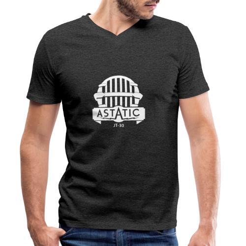 Astatic JT-30 logo - Men's Organic V-Neck T-Shirt by Stanley & Stella