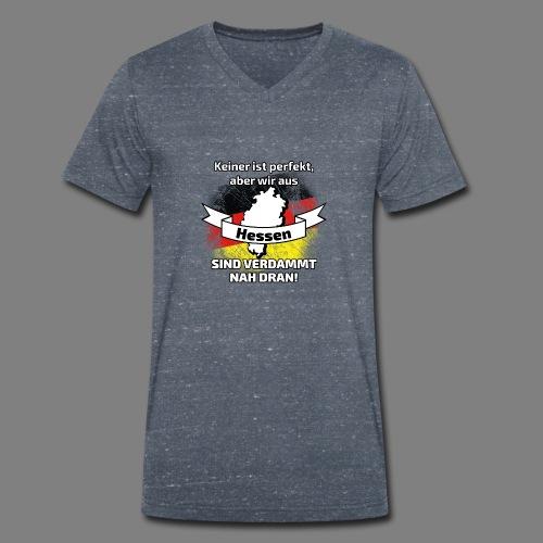 Perfekt Hessen - Männer Bio-T-Shirt mit V-Ausschnitt von Stanley & Stella