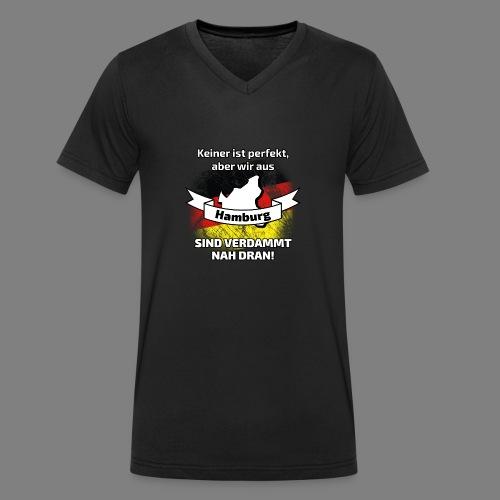 Perfekt Hamburg - Männer Bio-T-Shirt mit V-Ausschnitt von Stanley & Stella