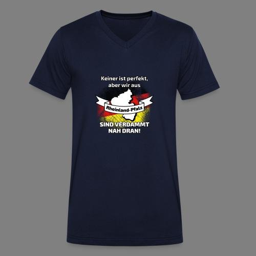 Perfekt Rheinland-Pfalz - Männer Bio-T-Shirt mit V-Ausschnitt von Stanley & Stella