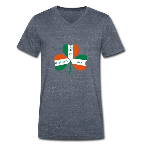 ST PATRICK'S DAY - Männer Bio-T-Shirt mit V-Ausschnitt von Stanley & Stella