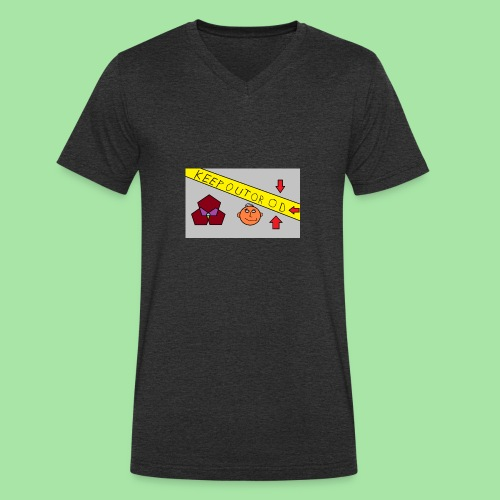 CONSERVER OU OD - T-shirt bio col V Stanley & Stella Homme