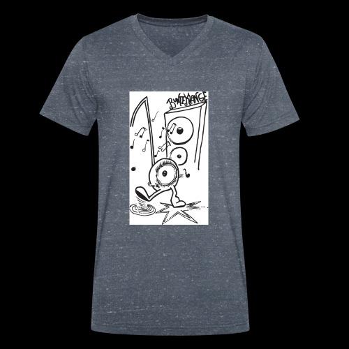 BunteKlänge Freak4 - Männer Bio-T-Shirt mit V-Ausschnitt von Stanley & Stella