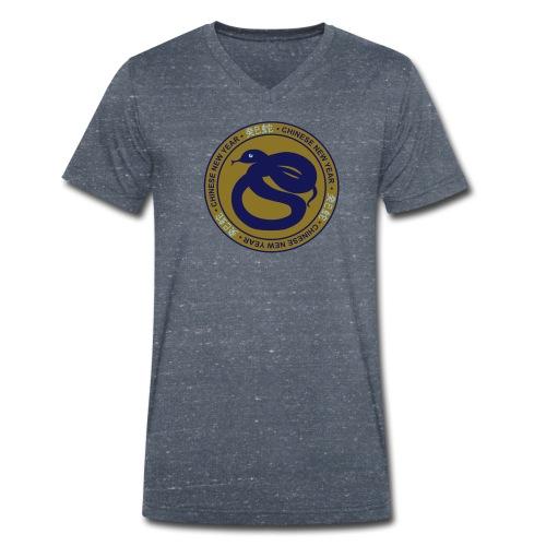 serpent d'eau yin - T-shirt bio col V Stanley & Stella Homme