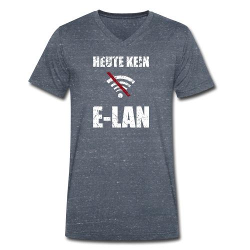 Heute kein Elan Geschenk - Männer Bio-T-Shirt mit V-Ausschnitt von Stanley & Stella
