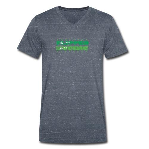 Flipped Racing, A-Plus No Logo - Men's Organic V-Neck T-Shirt by Stanley & Stella