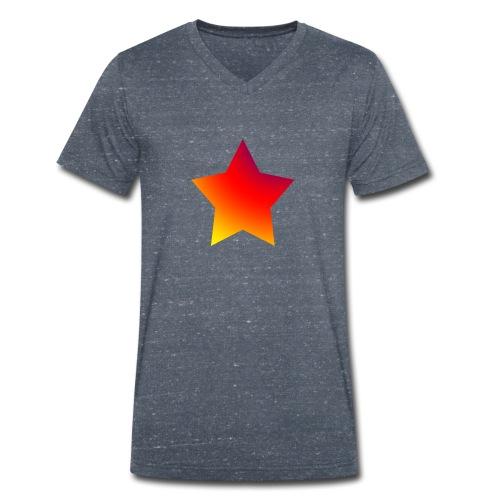 star boys - Men's Organic V-Neck T-Shirt by Stanley & Stella