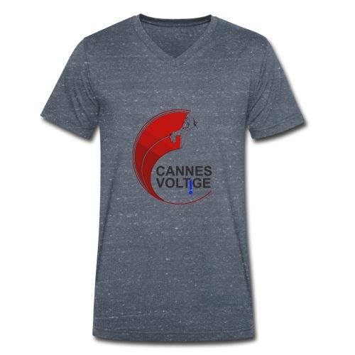 vect last logo cannes - T-shirt bio col V Stanley & Stella Homme