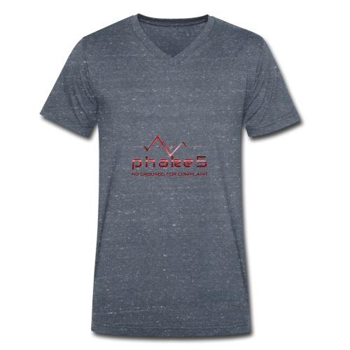 transparent - Ekologisk T-shirt med V-ringning herr från Stanley & Stella