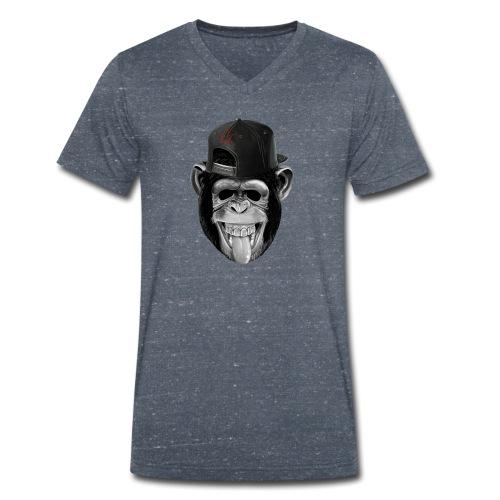 monkey business - Männer Bio-T-Shirt mit V-Ausschnitt von Stanley & Stella