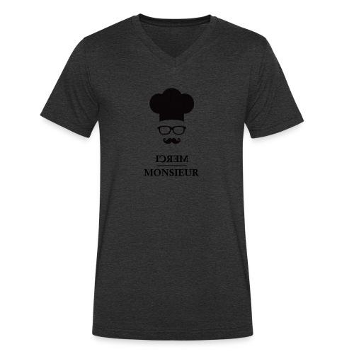 MM cuisinier - T-shirt bio col V Stanley & Stella Homme