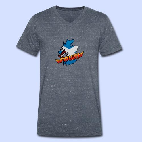 IndiFawks - Men's Organic V-Neck T-Shirt by Stanley & Stella