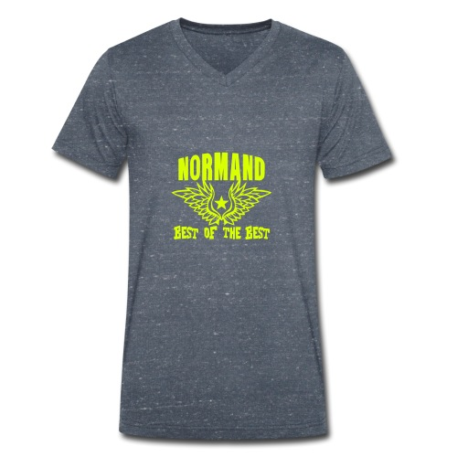 normand breton best of the best - T-shirt bio col V Stanley & Stella Homme