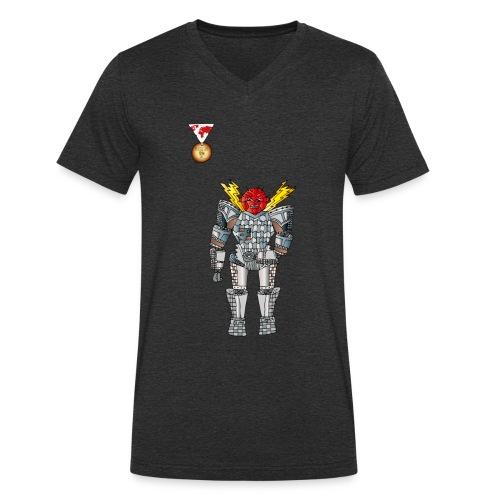 Trashcan - Männer Bio-T-Shirt mit V-Ausschnitt von Stanley & Stella